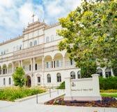 Mooie Bischop Leo T Maher Hall van Universiteit van San Diego stock foto's