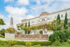 Mooie Bischop Leo T Maher Hall van Universiteit van San Diego royalty-vrije stock afbeeldingen