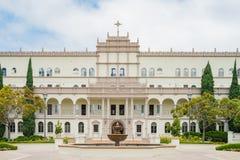Mooie Bischop Leo T Maher Hall van Universiteit van San Diego royalty-vrije stock fotografie