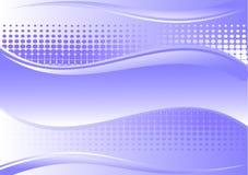 Mooie blauwe achtergrond vector illustratie