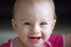 Mooie blauwe eyed baby Stock Foto's