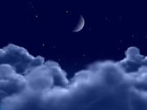 Mooie blauwe hemel Vector Illustratie