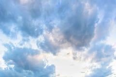 Mooie blauwe hemel 2 Royalty-vrije Stock Foto