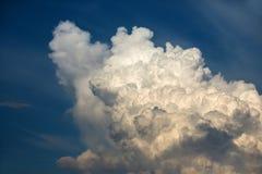 Mooie blauwe hemel Stock Afbeelding
