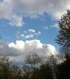 Mooie blauwe hemel Royalty-vrije Stock Foto