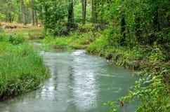 Mooie blauwe rivier Stock Afbeeldingen