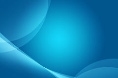 Mooie blauwe samenvatting als achtergrond voor Web en ontwerp vector illustratie