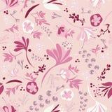 Mooie Bloei op Roze vector illustratie