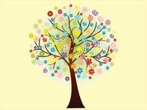 Mooie bloeiende de lenteboom Royalty-vrije Stock Afbeelding