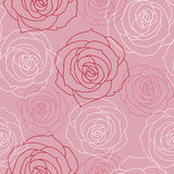 Mooie bloemen naadloze achtergrond Royalty-vrije Stock Afbeelding