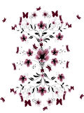 Mooie bloemen van kers Royalty-vrije Stock Afbeelding