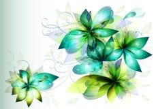Mooie bloemen voor uw ontwerp Stock Foto