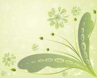 Mooie bloemenachtergrond Stock Afbeelding