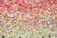 Mooie bloemenachtergrond voor huwelijk Royalty-vrije Stock Foto's