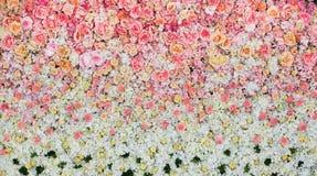Mooie bloemenachtergrond voor huwelijk stock afbeeldingen