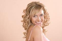 Mooie blond Royalty-vrije Stock Foto