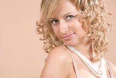Mooie blond Stock Afbeeldingen