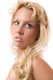 Mooie blond Stock Afbeelding