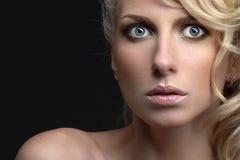 Mooie blonde Stock Afbeelding