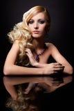 Mooie blonde stock afbeeldingen