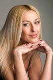 Mooie blonde Royalty-vrije Stock Fotografie
