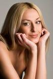 Mooie blonde Royalty-vrije Stock Foto