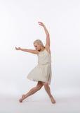Mooie Blonde Eigentijdse Danser - Gunst Stock Foto