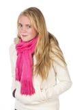 Mooie blonde tiener Royalty-vrije Stock Afbeeldingen