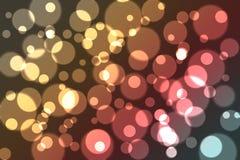 Mooie Bokeh-Achtergrond (Vaag Behang) Stock Fotografie
