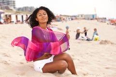 Mooie Braziliaanse vrouw stock foto's