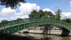 Mooie brug in Bangkok Stock Fotografie