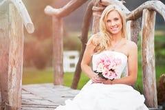 Mooie bruid Stock Foto's