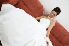 Mooie bruid. Stock Foto