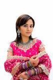 Mooie bruid Bangali Royalty-vrije Stock Fotografie
