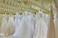 Mooie bruids kleding Stock Foto