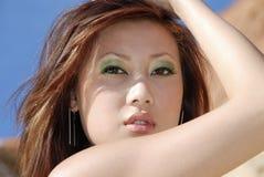 Mooie brunette Royalty-vrije Stock Afbeelding