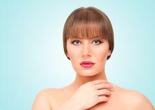 Mooie brunette stock foto's