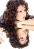 Mooie brunette Royalty-vrije Stock Afbeeldingen