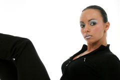 Mooie Bulgaarse Vrouw stock foto's