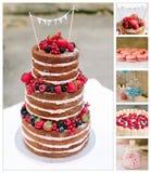 Mooie cake Royalty-vrije Stock Foto's