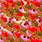 Mooie cakes stock afbeeldingen