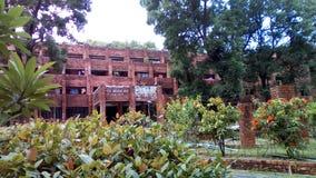 mooie campus op universiteit van Chitagong royalty-vrije stock foto