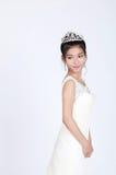 Mooie Chinese bruid royalty-vrije stock afbeelding