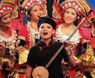 Mooie Chinese kunstenaars van Guangxi Royalty-vrije Stock Fotografie