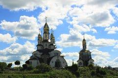 Mooie christelijke kerk Stock Afbeelding