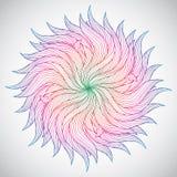 Mooie cirkelachtergrond royalty-vrije illustratie