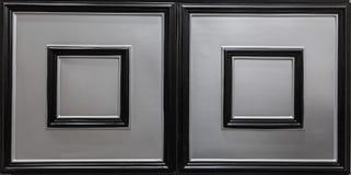 Mooie close-upmening van de donkere zilveren achtergrond van de de tegelsluxe van het kleuren binnenlandse plafond Royalty-vrije Stock Fotografie