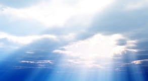 Mooie cloudscape Royalty-vrije Stock Foto's