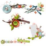 Mooie clusters Royalty-vrije Stock Afbeelding