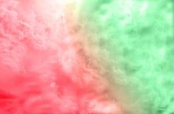 Mooie creatieve dubbele kleurenuitbarsting, rode en groene/abstracte achtergrond Royalty-vrije Stock Foto's